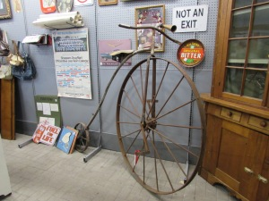 You never know when you're going to need a vintage unicycle!
