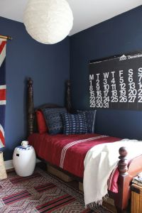 navy kids room